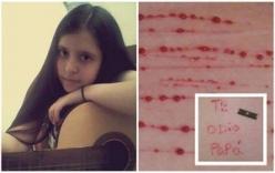 Cô bé tự lấy dao rạch khắp cơ thể và nỗi đau bị bố đẻ xâm hại từ năm 4 tuổi