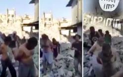 Video: Chiến binh IS lầm lũi chui lên từ đống đổ nát Mosul