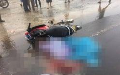 Đôi vợ chồng bị container cán tử vong sau khi dự đám tang về