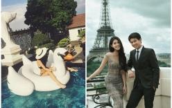 Cận cảnh cuộc sống thượng lưu vạn người mơ của em chồng Tăng Thanh Hà