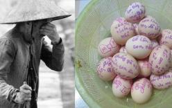 Xúc động trước rổ trứng gà mẹ gửi cho con đi học trên thành phố