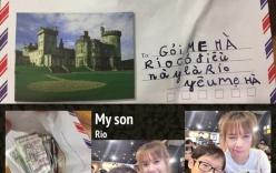 """Tặng quà """"độc"""" cho mẹ, con trai Lý Hải khiến mọi người ghen tỵ"""