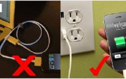 Mẹo xử lý nhanh chóng điện thoại khi sạc pin quá chậm