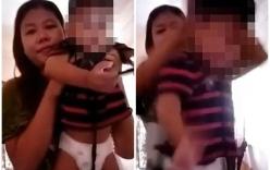 Hành hạ con ruột, quay video gửi chồng vì không chịu nghe điện thoại