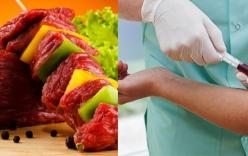 Ăn quá nhiều thịt, người đàn ông hoảng hốt khi xem kết quả xét nghiệm máu
