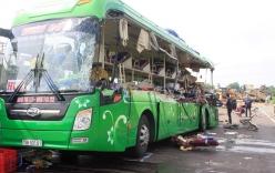 Vụ xe khách đâm ôtô đầu kéo ở Bình Định: