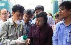 Bộ trưởng Y tế kiểm tra tại ổ dịch sốt xuất huyết Thuỵ Khê - Tây Hồ