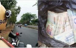 Vi phạm giao thông, thiếu nữ sợ hãi bỏ lại xe máy cùng 450 triệu đồng