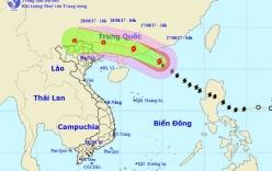 Diễn biến mới nhất về cơn bão số 7 trên khu vực Biển Đông