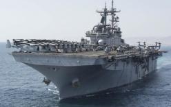 Mỹ điều 2 chiến hạm hỗ trợ bang Texas đối phó bão Harvey