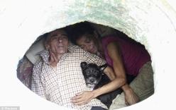 Căn nhà 6m2 dưới ống cống của cặp vợ chồng vô gia cư nhưng đầy đủ không thiếu thứ gì