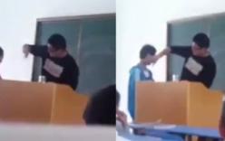 Thầy giáo tát 20 học sinh trước lớp trong ngày đầu đi học gây phẫn nộ