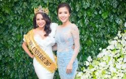 Hoa hậu Lưu Hoàng Trâm mở tiệc ăn mừng sau đại thắng tại Mrs Universe