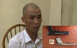 Bắt khẩn đối tượng nghiện ma túy, tàng trữ súng tự chế