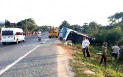 Không xác định được tốc độ xe khách trong vụ đối đầu container khiến 2 người chết