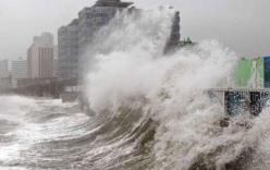 Siêu bão cùng áp thấp hoạt động sát biển Đông