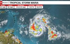 Xuất hiện thêm 3 cơn bão ở Đại Tây Dương