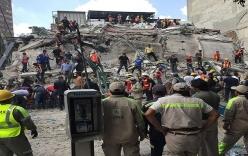 Video: Kinh hoàng động đất ở Mexico khiến hơn 240 người tử vong
