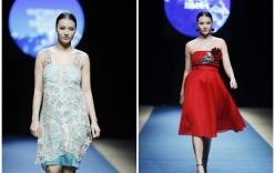Hồng Quế lộ vóc dáng đẫy đà trên sàn diễn Tuần lễ thời trang Xuân Hè