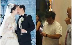 Ông Đoàn Ngọc Hải dự lễ cưới của Hoa hậu Đặng Thu Thảo