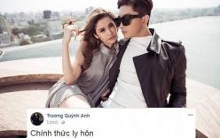 Trương Quỳnh Anh lại tuyên bố chính thức ly hôn Tim