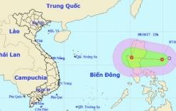 Áp thấp nhiệt đới giật cấp 8 thẳng tiến Biển Đông, miền Bắc mưa đợt mới