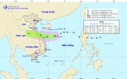 Áp thấp giật cấp 9 cách bờ biển Quảng Bình-Đà Nẵng 450km