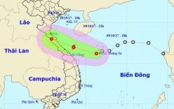 Áp thấp nhiệt đới chậm lại, đổi hướng có khả năng mạnh lên thành bão