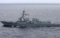 Mỹ điều chiến hạm vào gần quần đảo Hoàng Sa