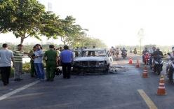 Giám đốc công ty Thủy sản bị giang hồ đốt trong xe 7 chỗ đã tử vong