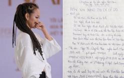Mai Ngô viết đơn tố cáo BTC Hoa hậu Hoàn vũ VN dàn dựng, gây tổn hại danh dự, sức khỏe