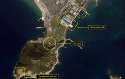 Triều Tiên bị lộ nơi bí mật phát triển tàu ngầm phóng tên lửa