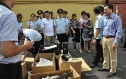 Hải Phòng: Tạm giữ 10 container hàng nhái đồ hiệu