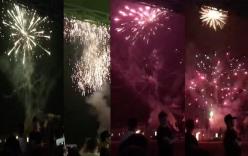 Xôn xao clip tập đoàn Mường Thanh bắn pháo hoa hoành tráng ngày Đại hội nội bộ