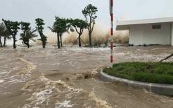 Bão số 12 mạnh lên, giật cấp 15, áp sát bờ biển Khánh Hoà - Ninh Thuận