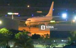 Phi cơ C-40 đặc chủng của đoàn tiền trạm Mỹ dự APEC đáp xuống Đà Nẵng