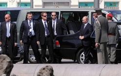 Hàng rào an ninh dày đặc quanh Tổng thống Putin khi công du nước ngoài