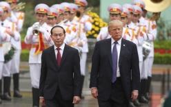 Nhà Trắng thông báo kết quả chuyến thăm Việt Nam của Tổng thống Trump