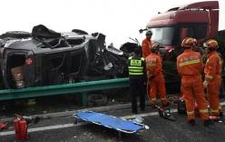 Tai nạn nghiêm trọng ở Trung Quốc: 30 ô tô đâm liên hoàn, ít nhất 18 người chết