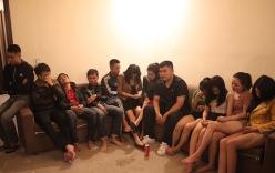Hơn chục thanh niên mở tiệc ma túy trong nhà nghỉ chia tay bạn đi làm xa