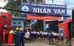 Vụ cháy trường học ở TP.HCM: Cô hiệu trưởng viết tâm thư cảm ơn học sinh