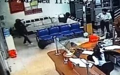 Clip cướp táo tợn nổ súng bắn bảo vệ cướp ngân hàng ở Đắk Lắk