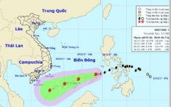 Thông tin mới nhất về diễn biến cơn bão Bão Kai-tak (bão số 15)