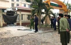 Cây ATM tại cổng trường ở Nghệ An phát nổ như bom