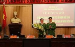 Bổ nhiệm Thủ trưởng Cơ quan CSĐT Công an Hà Nội