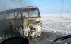 TNGT thảm khốc: Cháy xe bus khiến 52 người thiệt mạng