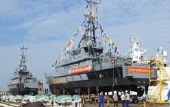 Bộ đội Biên phòng tổ chức lễ hạ thủy 2 tàu tuần tra cao tốc tối tân