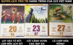 """Phát hiện thêm sự trùng hợp sửng sốt trong """"quyển lịch tiên tri"""" hành trình của U23 Việt Nam?"""