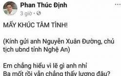 Xôn xao bài thơ của một thầy giáo gửi Chủ tịch tỉnh Nghệ An vì bị chậm lương gây xôn xao