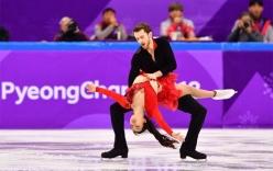 Người đẹp trượt băng xứ Hàn bị bung cúc áo trong lúc biểu diễn